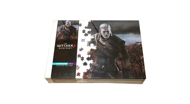 Witcher 3 Wild Hunt Gamescom 2013 Limited Edition