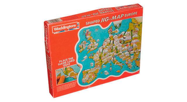 Europe Map 1983